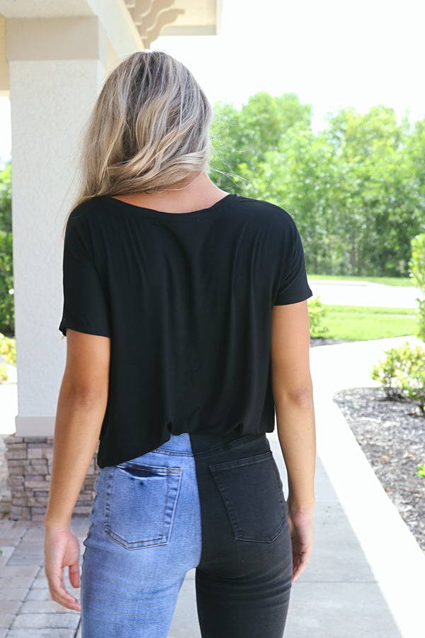 Sweet And Easy Tee - Black