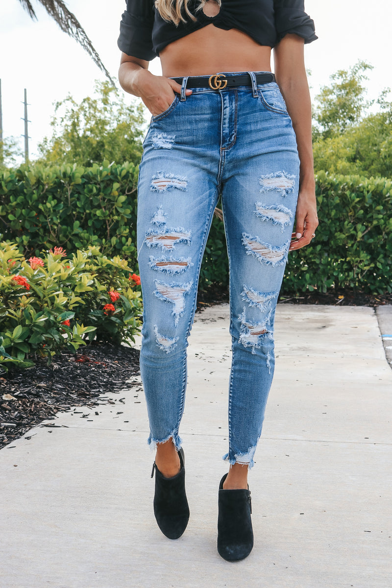 What's New High Rise Cello Jeans