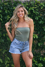 Holy Smokes Tube Top In Olive