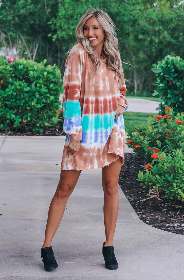 Chill Out T-shirt Dress