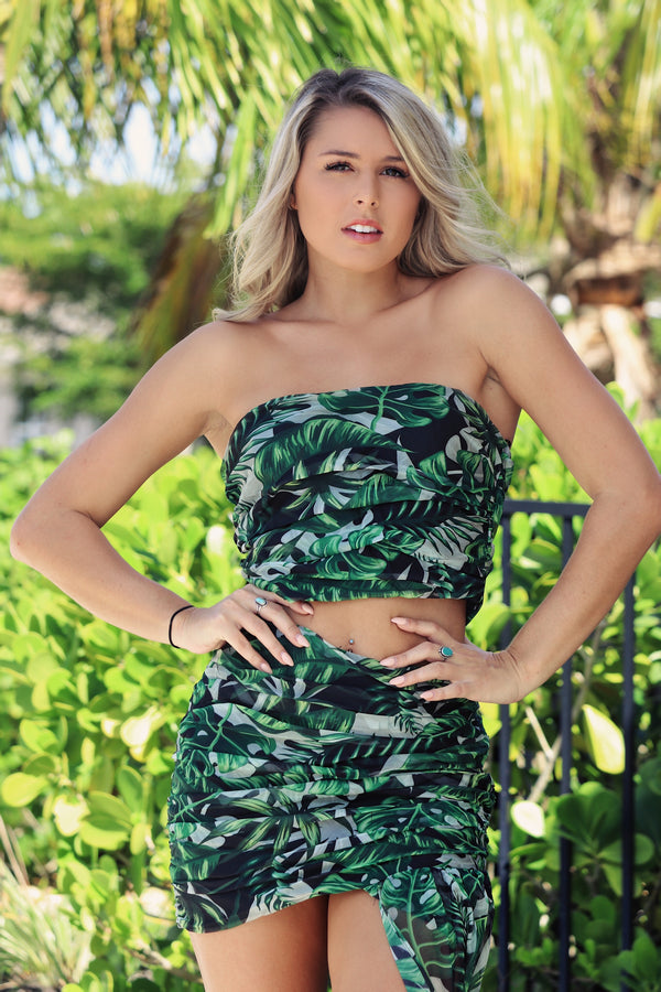 Tropical Paradise Set- Green