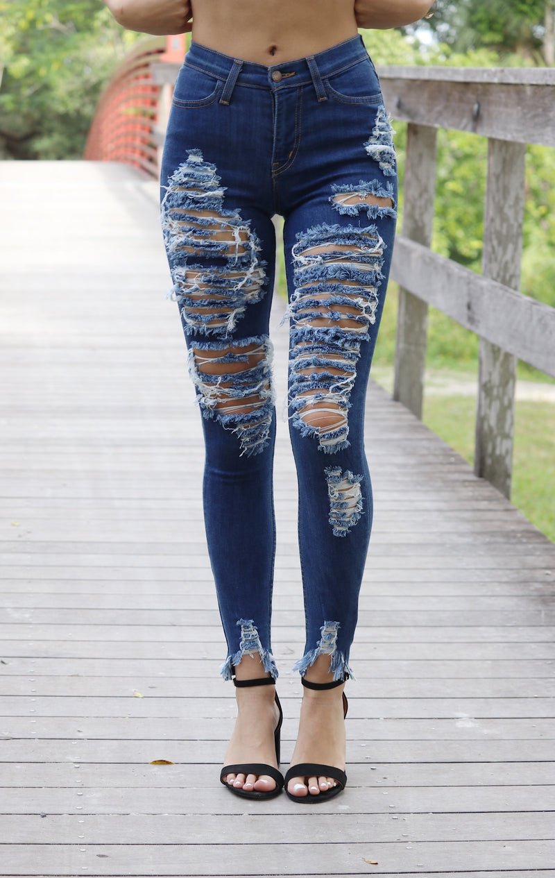 Most Wanted Distressed Jeans
