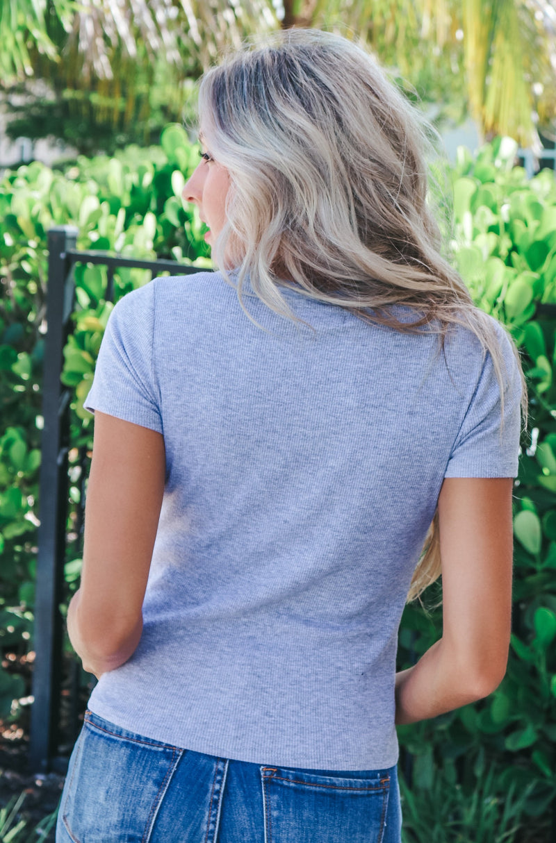 Make The Effort Ribbed Tee