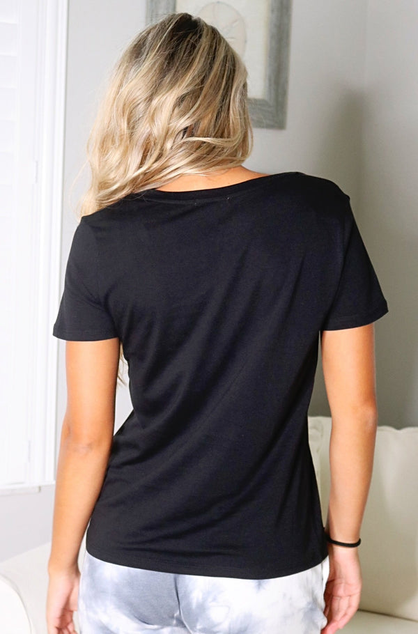 Beyond Basic Tee - Black