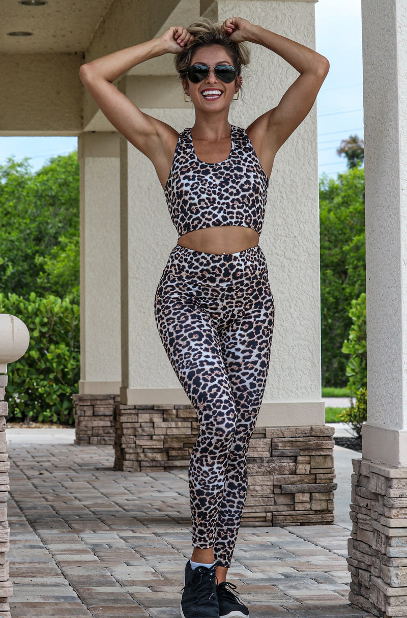 On The Run Leopard Leggings