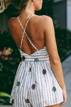 Wine and Roses Romper