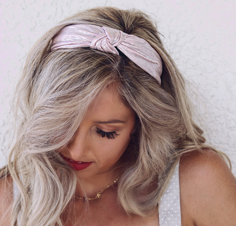 Totally Knot Metallic Headband