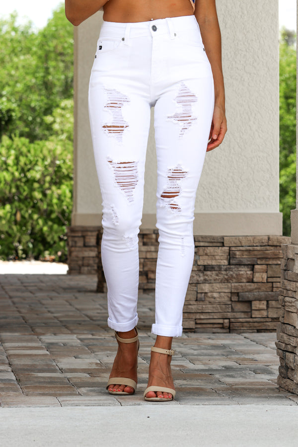 Remember Me White Kancan Jeans