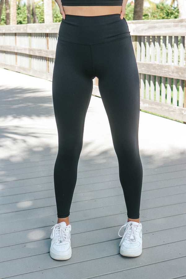 Pretty On Point Leggings - Black