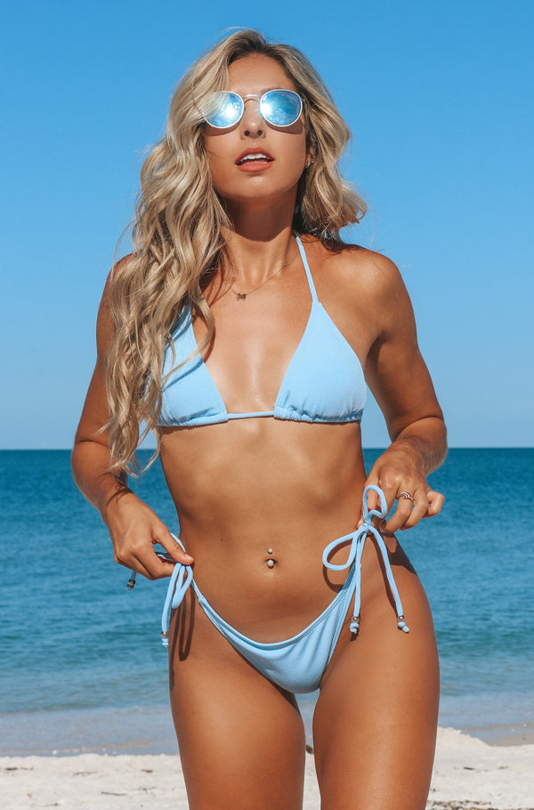 Sun Dreams Bikini Set- Blue