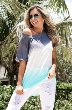 Easy Breezy Ombre Top
