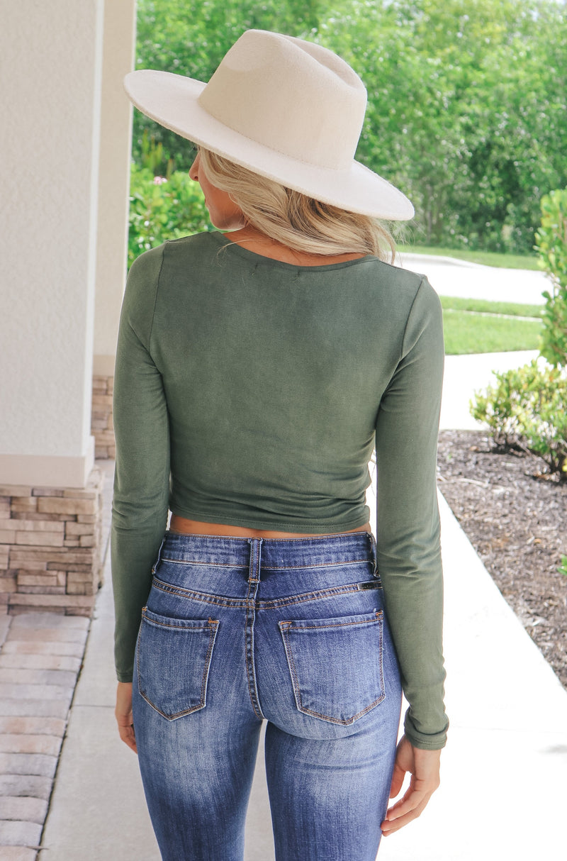Flawless Style Twist Front Top