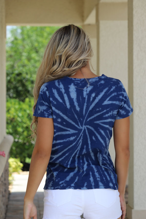 Valley Vibes Top - Blue