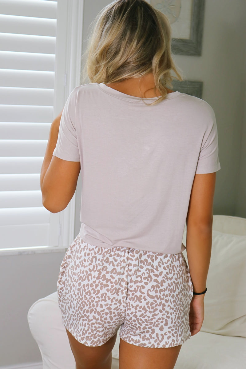 Sweet And Easy Tee - Taupe