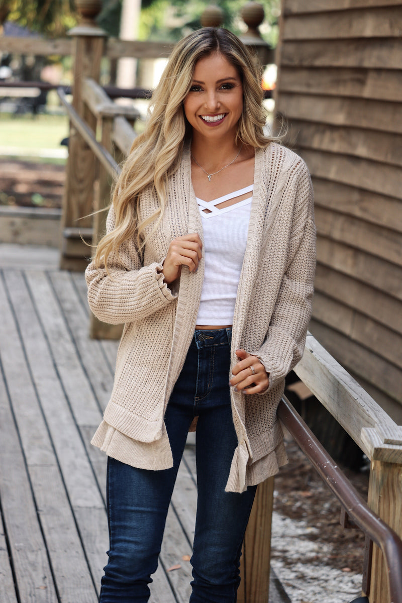 Honey Bunches Cardigan