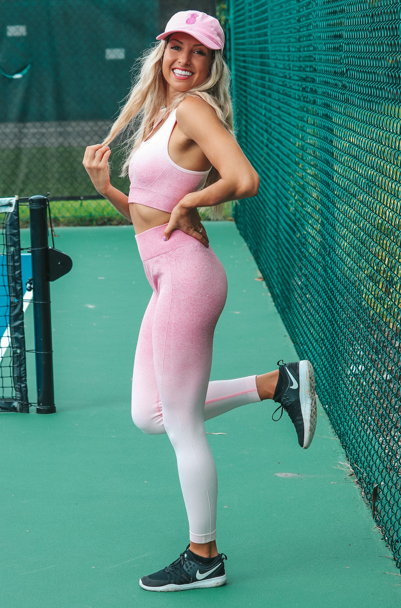 Active Life Leggings- Pink