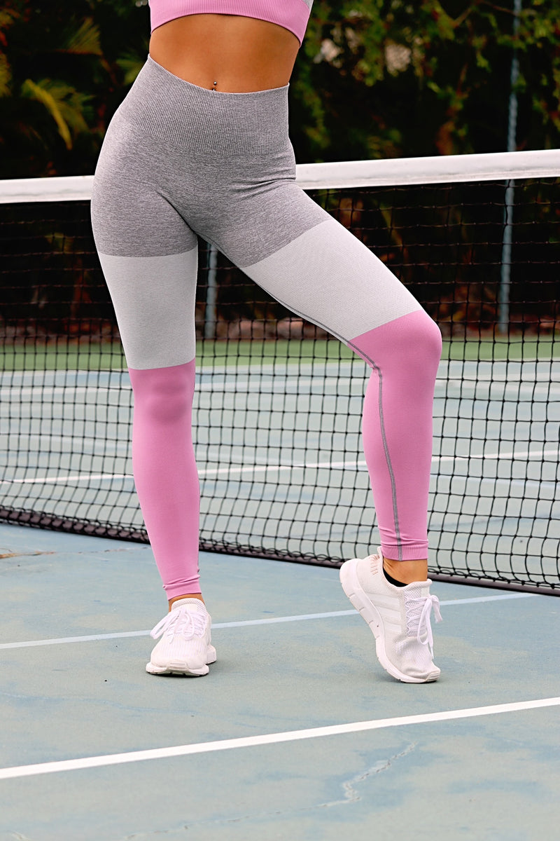 Passion For Fitness Leggings - Pink