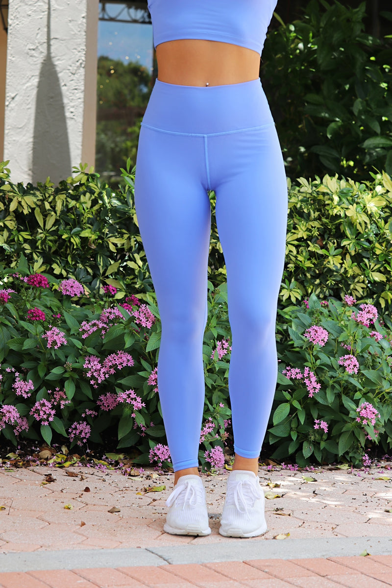 Pretty On Point Leggings - Blue