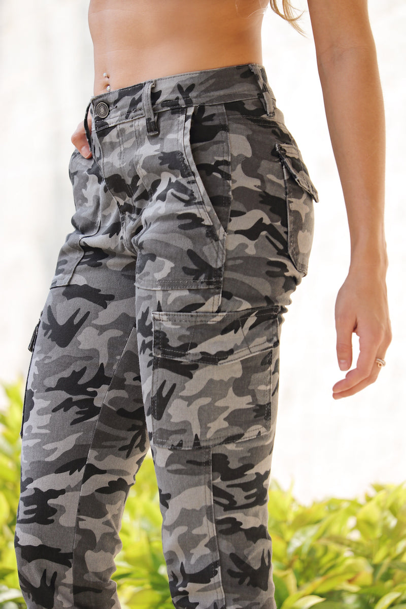 I See You Noticing Me Kancan Camo Pants
