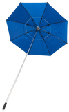 ShadeTee with Telescopic Pole - Royal Blue with Silver Top