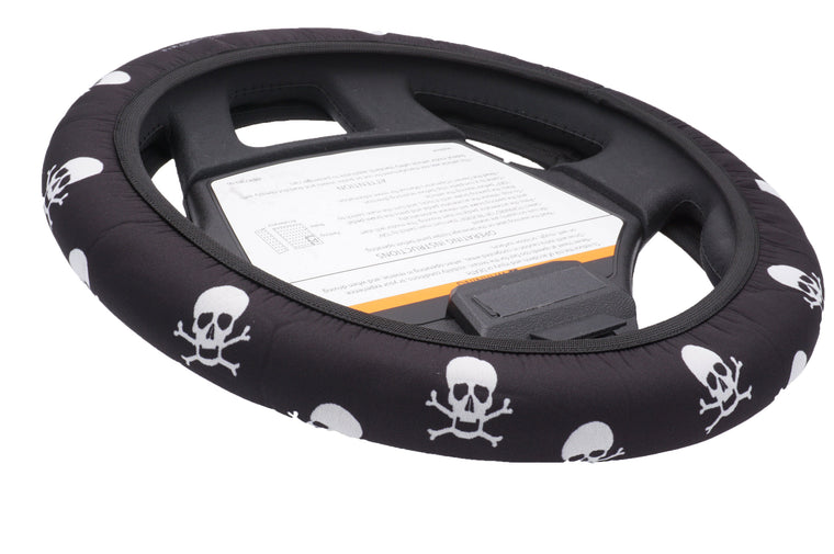 CartSkinz Skull Golf Cart Steering Wheel Cover