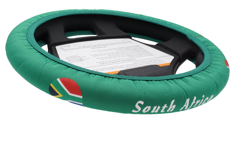 South Africa Golf Cart Steering Wheel Cover.  Club Car Golf Cart Steering Wheel Cover.   EZ-GO Golf Cart Steering Wheel Cover.   Yamaha Golf Cart Steering Wheel Cover.  Car Steering Wheel Cover.  ATV Steering Wheel Cover.  Boat Steering Wheel Cover.