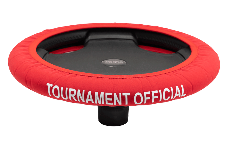 Tournament Official Red Golf Cart Steering Wheel Cover.  Club Car Golf Cart Steering Wheel Cover.   EZ-GO Golf Cart Steering Wheel Cover.   Yamaha Golf Cart Steering Wheel Cover.  Car Steering Wheel Cover.  ATV Steering Wheel Cover.  Boat Steering Wheel Cover.