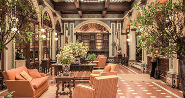 The Hippest NYC Hotel Lobbies To Work And Chill