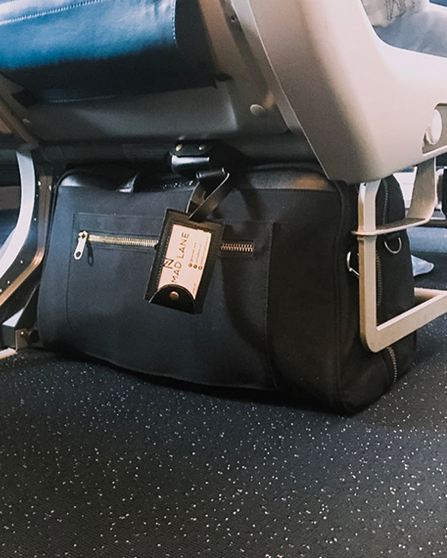 Bento Bag fits under airline seats