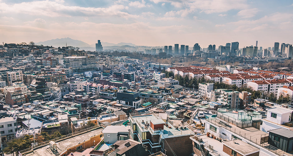 Itaewon neighborhood in Seoul