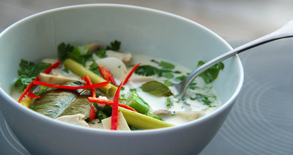 Thai Tom Kha Soup recipe