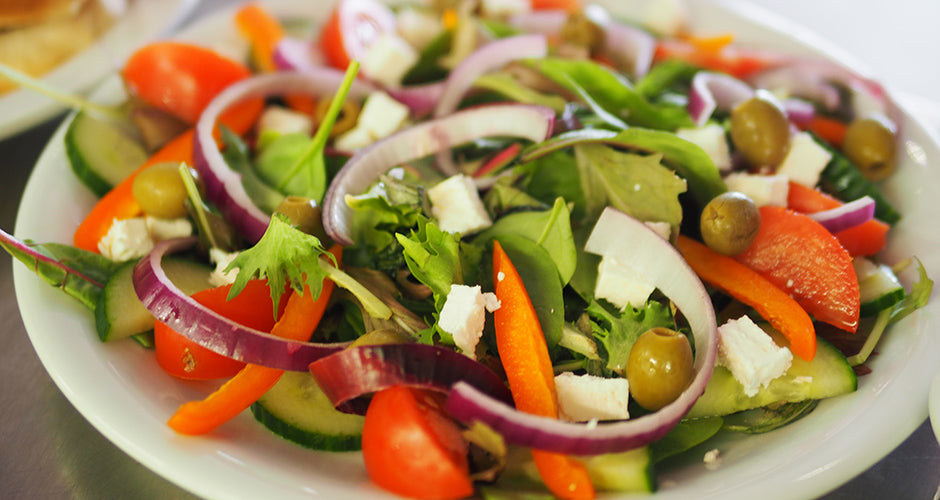 Simple Greek salad recipe