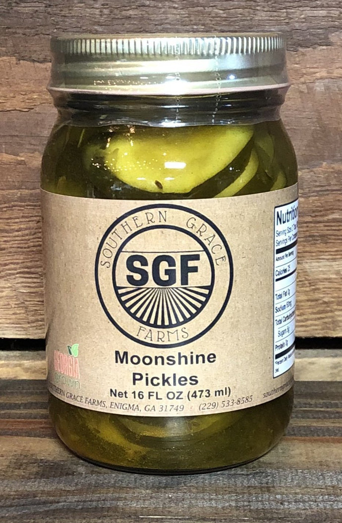 Georgia Moonshine Pickles