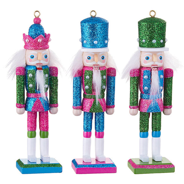 Raz Christmas Ornament Nutcracker