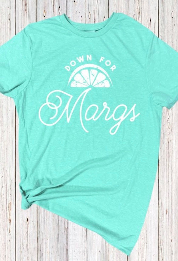 Down for Margs Short Sleeve Shirt