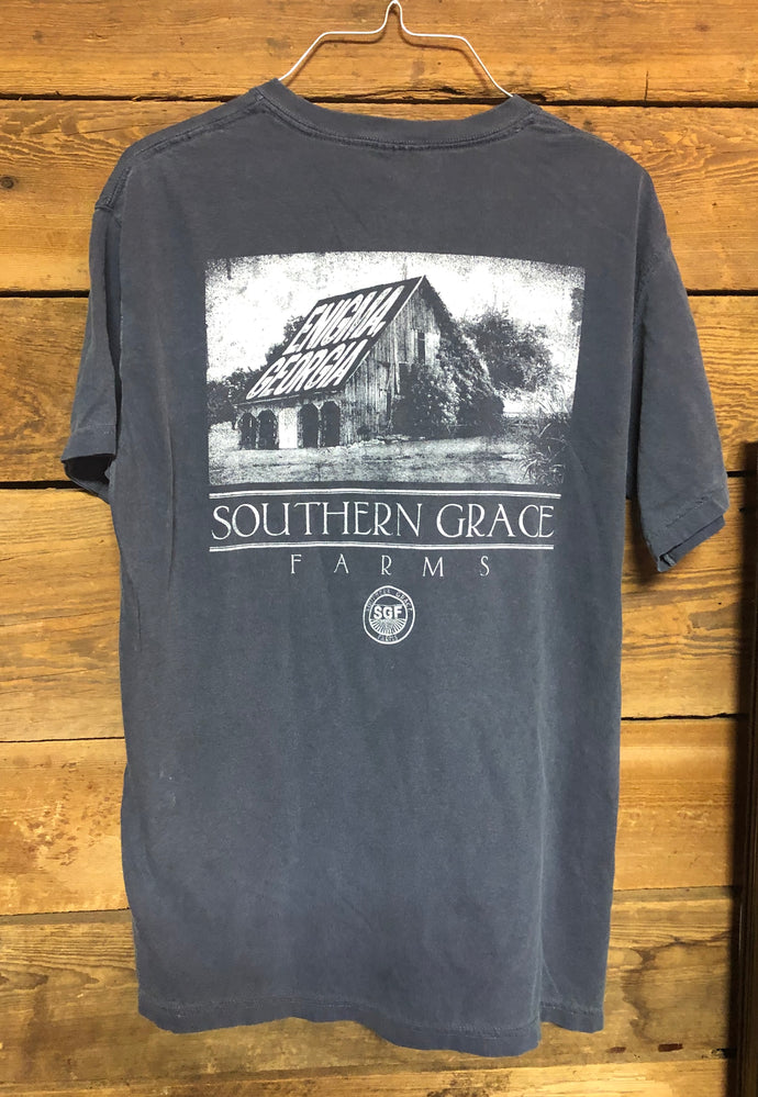 Southern Grace Farms Shirt Old Barn Denim