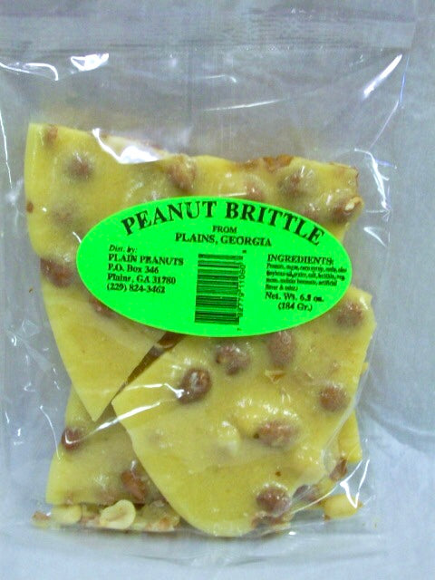 Plains Peanut Brittle Candy