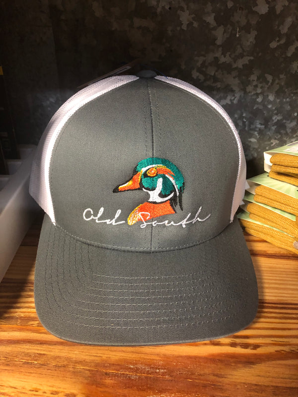 Old South Wood Duck Trucker Mesh Hat