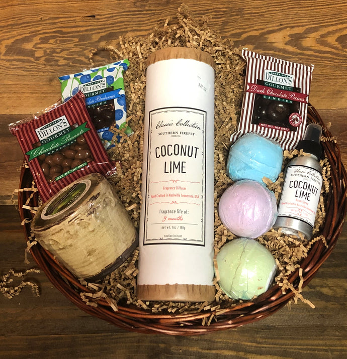 Spa Day Mother's Day Gift Basket