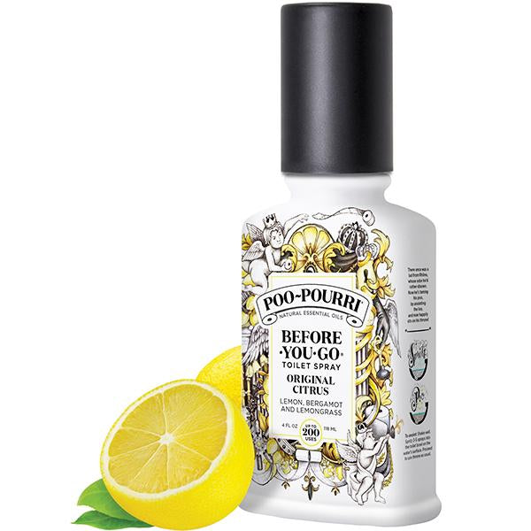 Poo Pourri Before You Go Toilet Original Citrus