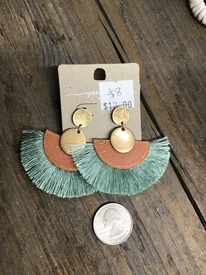 Trendy Fan Earrings Layla