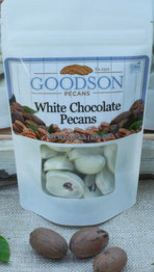 Goodsons White Chocolate Pecans