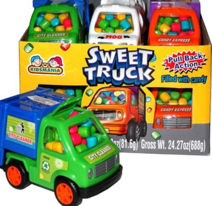Kidsmania Sweet Trucks Candy Filled (Assorted)