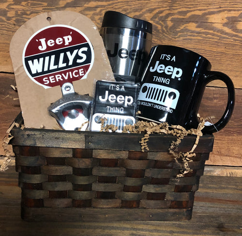 Its a Jeep Thing Jeep Lovers' Gift Basket