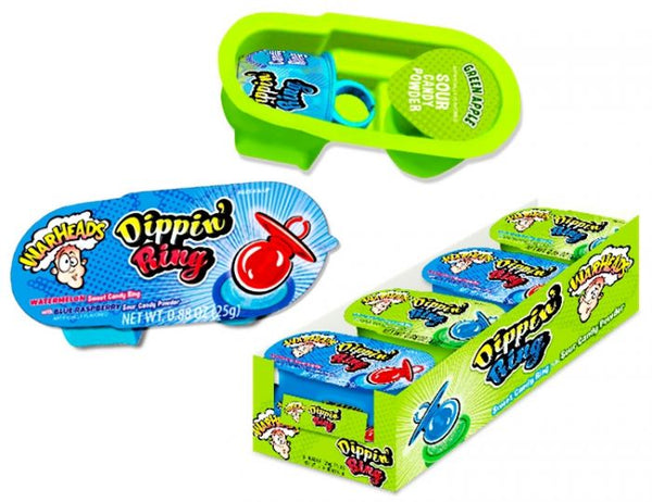 Warheads Sour Dippin' Ring Candy