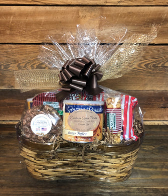 Large Georgia Peanut Gift Basket