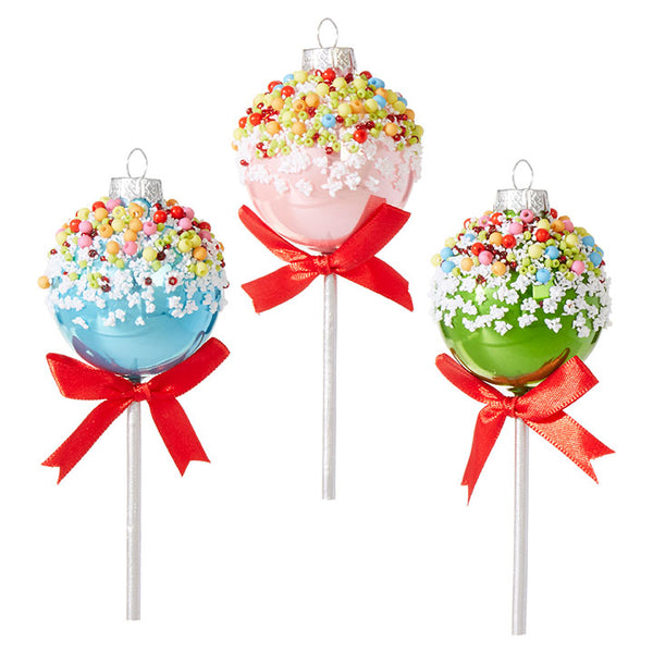 Raz Christmas Ornament Cake Pop