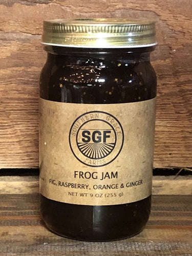 Frog Jam (Figs, Raspberries, Oranges, Ginger)