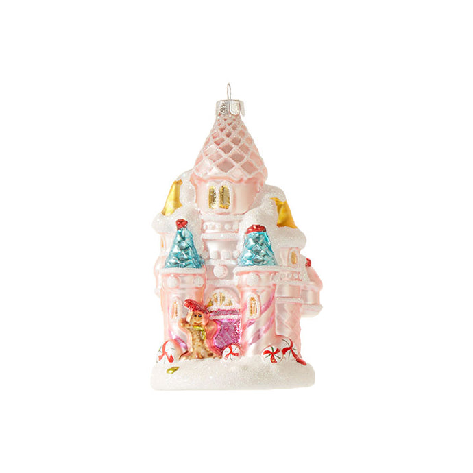 Raz Christmas Ornament Candy Castle