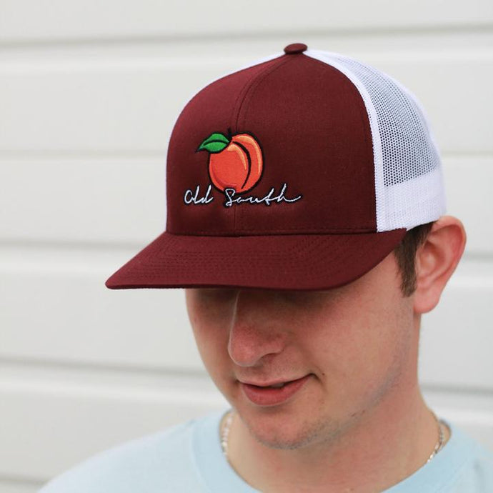 Old South Peach Trucker Mesh Hat